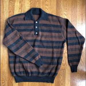 Other - Vintage Indie Striped Sweater